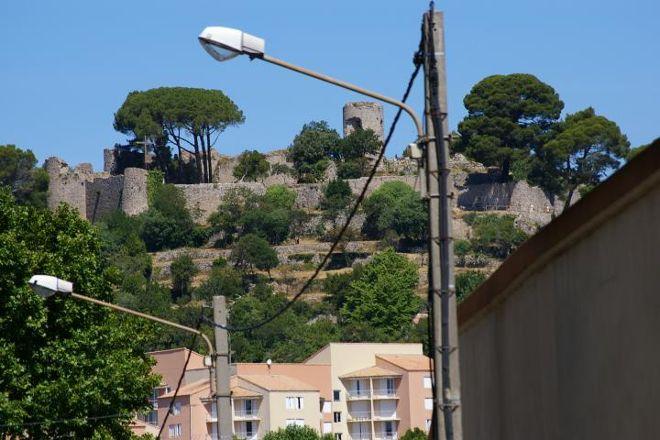 Chateau des Guilhem, Clermont l'Herault, France