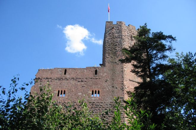 Chateau du Wangenbourg, Wangenbourg, France