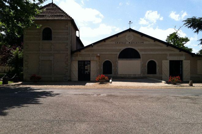 Château Maucaillou - Musée des arts et métiers de la vigne, Moulis-en-Medoc, France