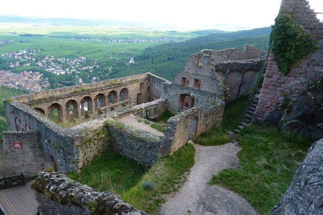 Chateau Saint-Ulrich, Ribeauville, France