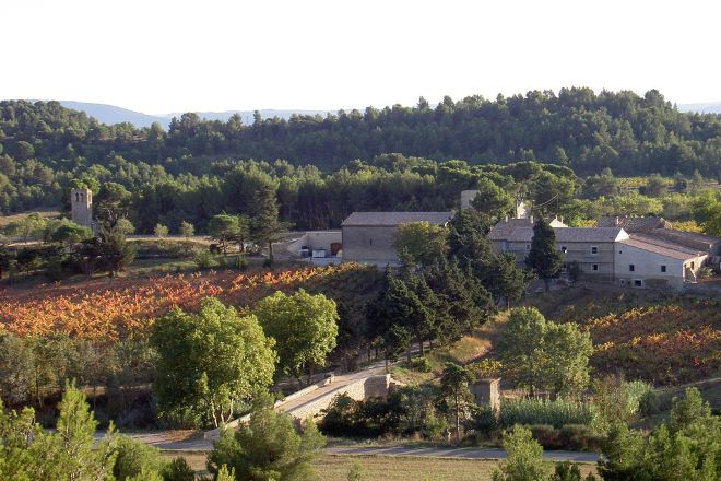 Chateau St Jacques d'Albas, Laure-Minervois, France