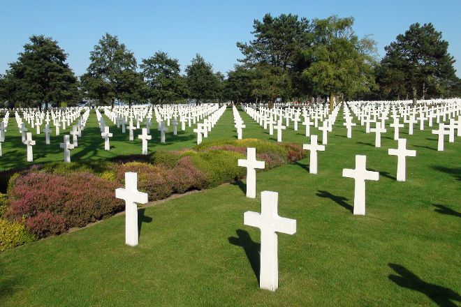 Normandy American Cemetery, Colleville-sur-Mer, France