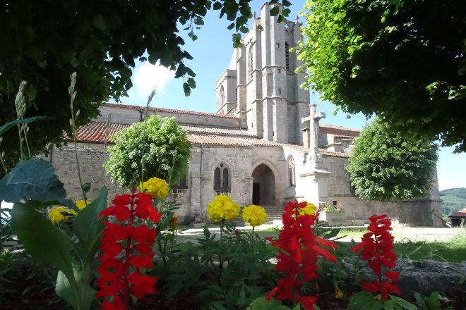 Collegiale de Saint-Bonnet-le-Chateau, Saint-Bonnet-le-Chateau, France