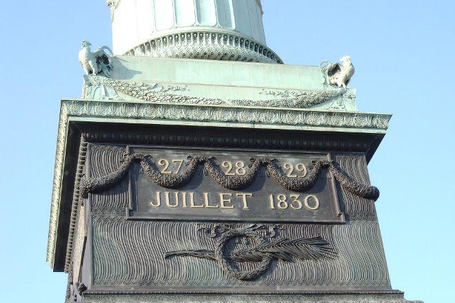 Colonne de Juillet, Paris, France