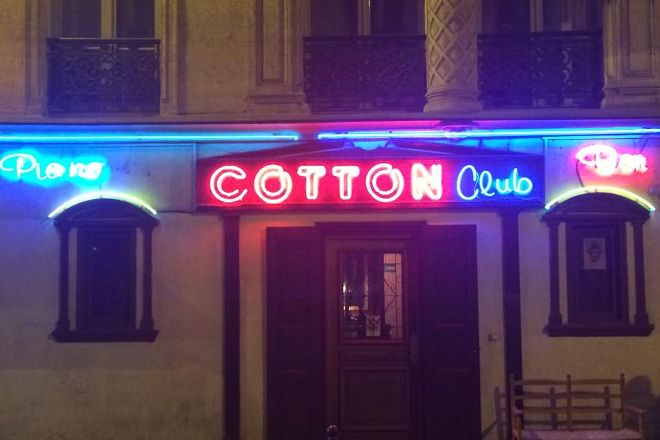 Cotton Club, Paris, France