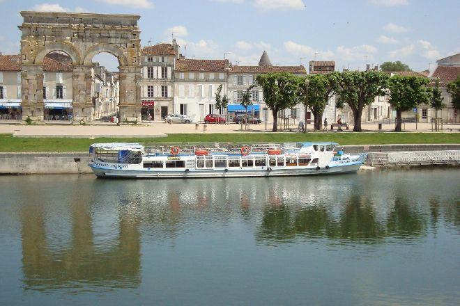Croisieres Fluviales Bernard Palissy III, Saintes, France