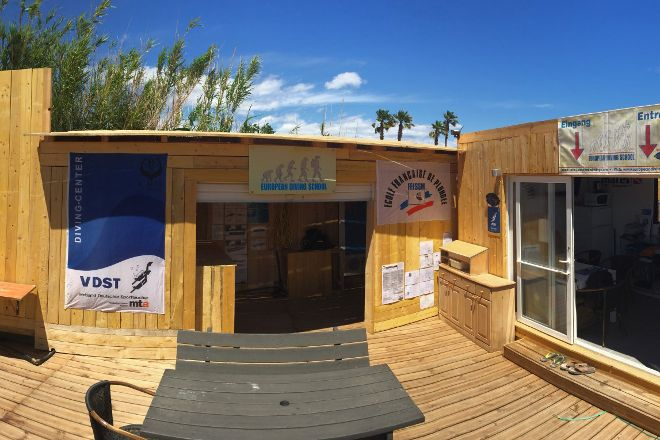 European Diving School, Ramatuelle, France