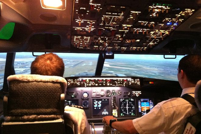 Flight Experience, Paris, France