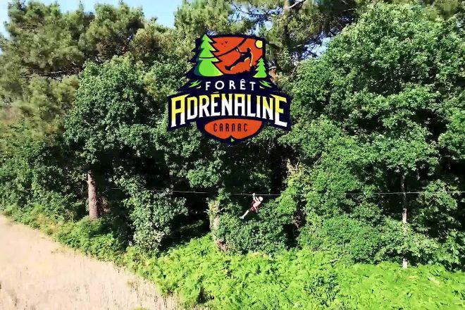 Foret Adrenaline, Carnac, France