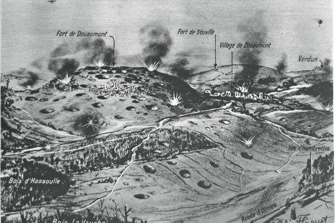 Fort de Souville, Verdun, France