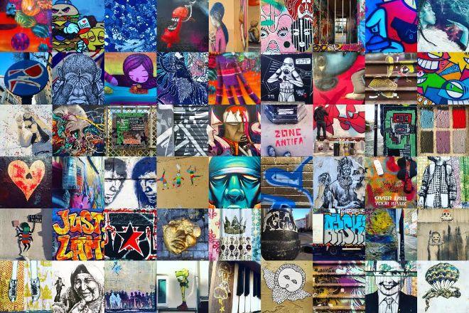Fresh Street Art Tour Paris, Paris, France