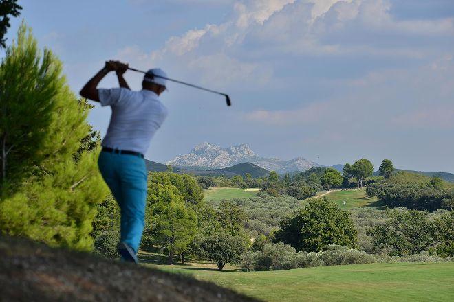 Golf club de Servanes, Mouries, France