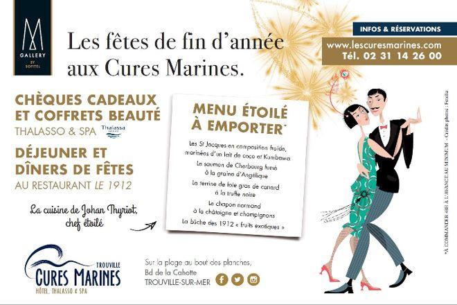 Institut des Cures Marines Thalassa Sea & Spa, Trouville-sur-Mer, France