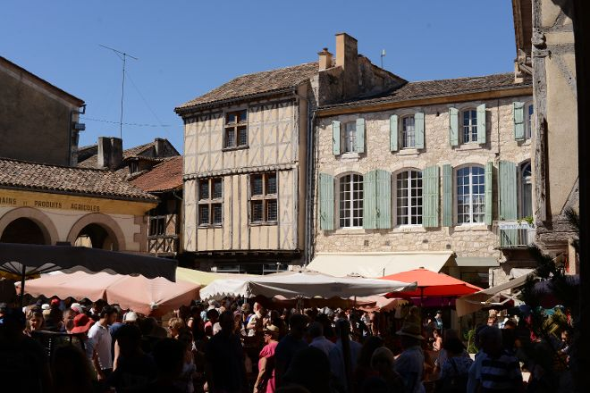 Issigeac Sunday Market, Issigeac, France