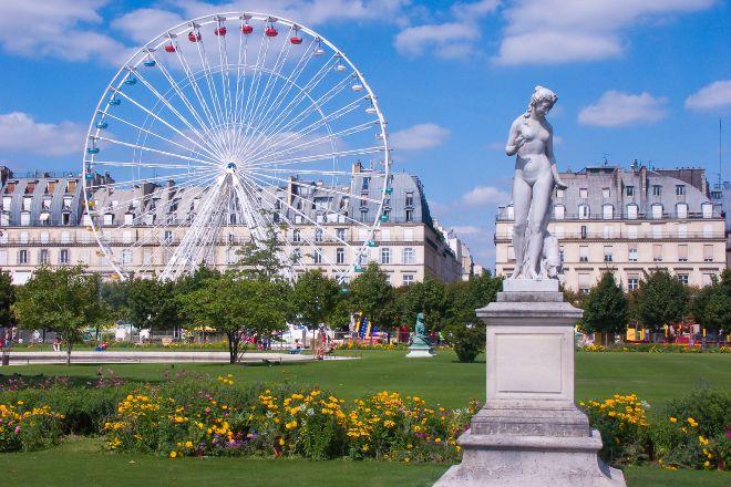 Jardin des Tuileries, Paris, France