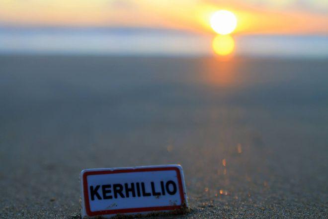 Plage de Kerhillio, Erdeven, France