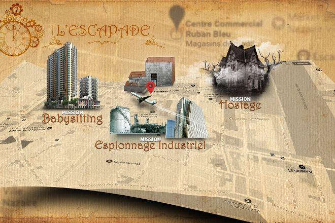 L'Escapade Escape Game, Saint-Nazaire, France