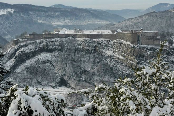 La Citadelle de Besancon, Besancon, France