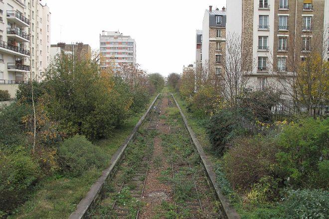 La Petite Ceinture du 12th arrondissement, Paris, France