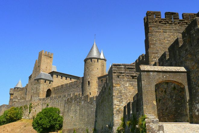La Porte D'aude, Carcassonne Center, France