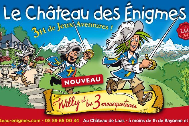 Le Chateau des Enigmes, Laas, France