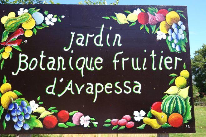 Le Jardin Botanique Frutier d'Avapessa, Avapessa, France