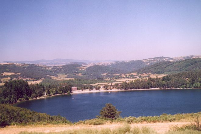 Le lac d'Issarles, Le Lac-d'Issarles, France