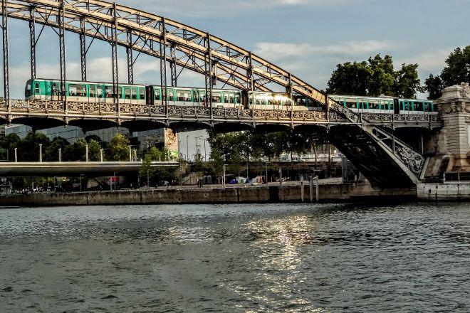 Le viaduc d'Austerlitz, Paris, France