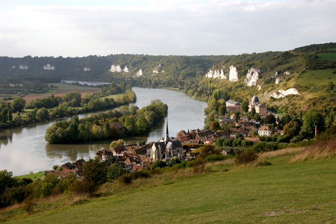 Les Andelys, Normandy, France