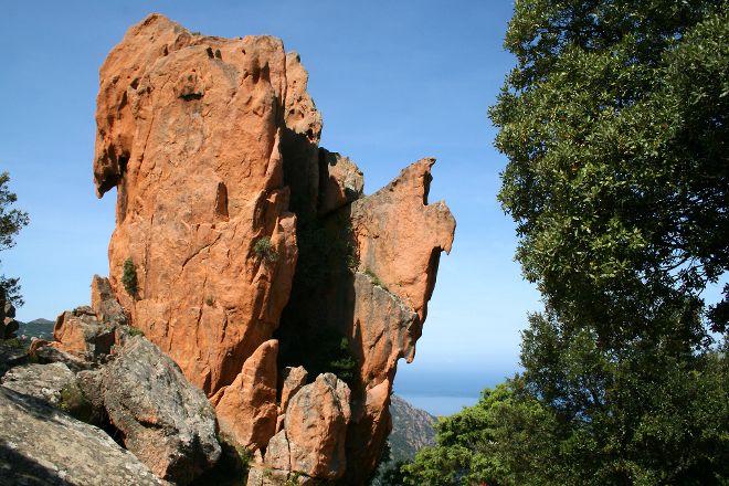 Les Calanche Cliffs, Corsica, France