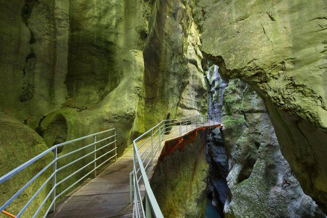 Les Gorges du Fier, Lovagny, France