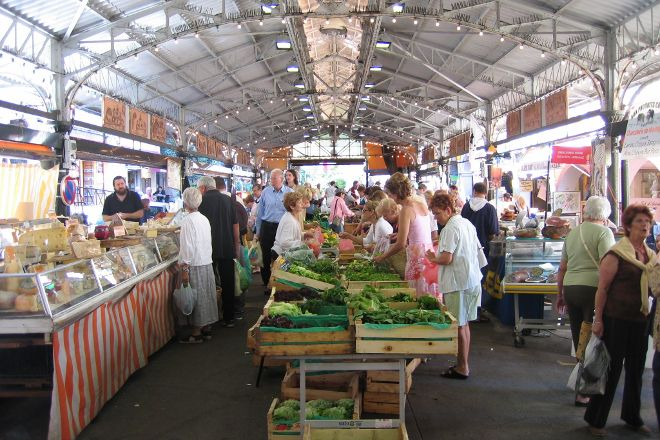 Marche provencal, Antibes, France