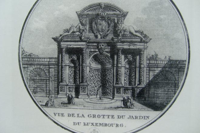 Marie De Medicis Fountain, Paris, France