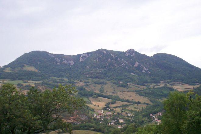 Mont Poupet, Salins-les-Bains, France