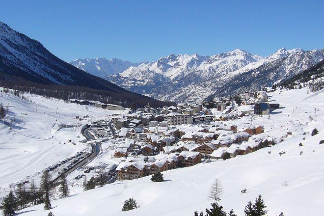 Montgenevre Ski Resort, Montgenevre, France