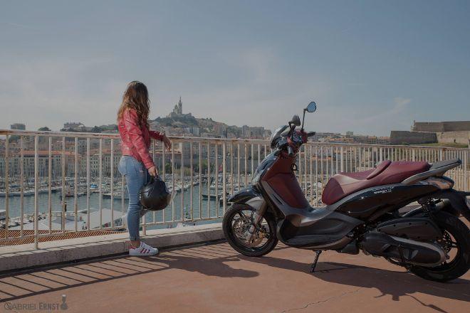 Moto Moretti, Marseille, France