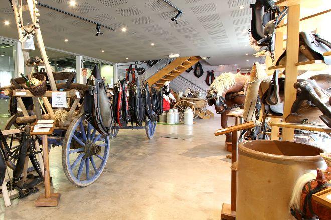 Musee-Relais du Cheval de Trait Comtois et de la Foret, Levier, France