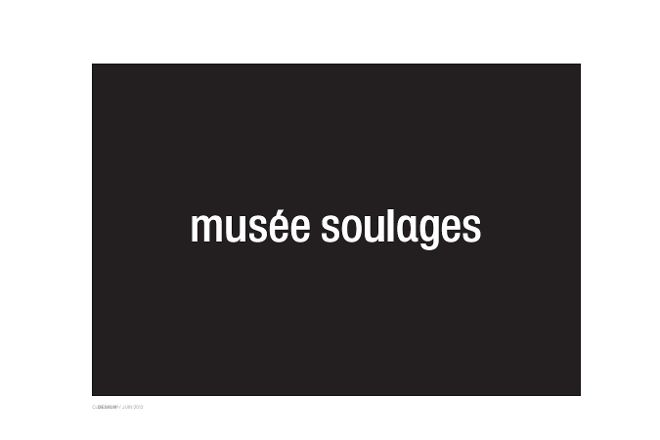 Musee Soulages Rodez, Rodez, France