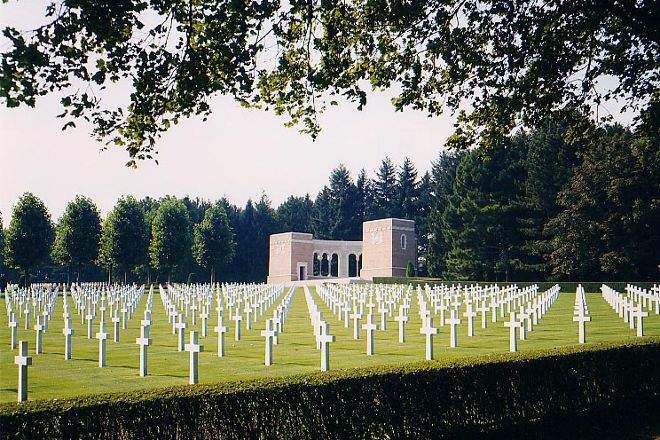 Oise-Aisne American Cemetery and Memorial, Fere-en-Tardenois, France