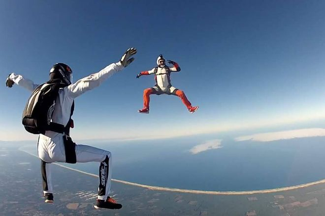 OJB Parachutisme, Mimizan, France