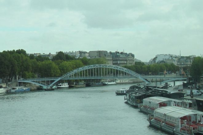 Passerelle Debilly, Paris, France