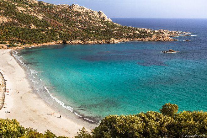 Plage De Roccapina, Corsica, France