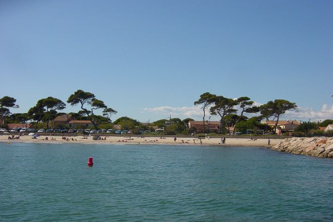 Plage La Capte, Hyeres, France
