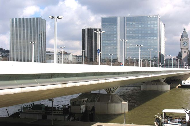 Pont Charles-de-Gaulle, Paris, France