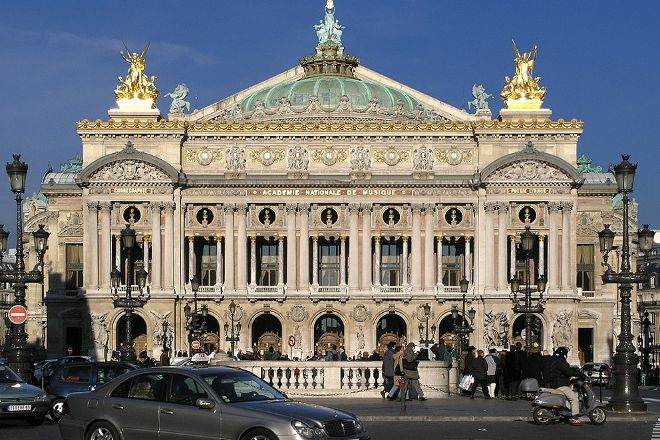 Quartier de l'Opera, Paris, France