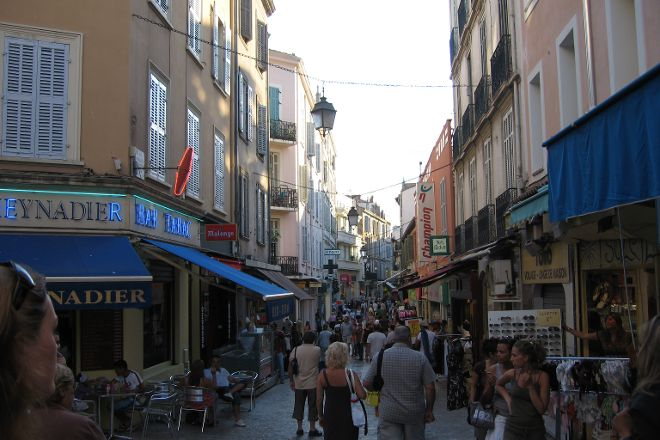 Rue d'Antibes, Cannes, France
