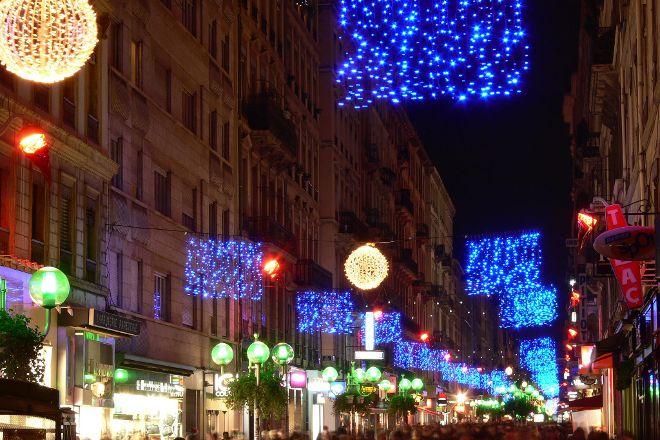Rue Victor Hugo, Lyon, France