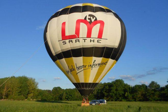 Sarthe Montgolfiere, La Chartre-sur-le-Loir, France