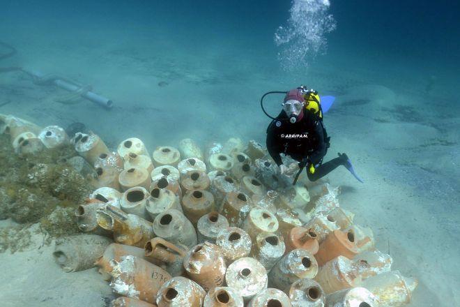 Sentier sous marin, Hyeres, France