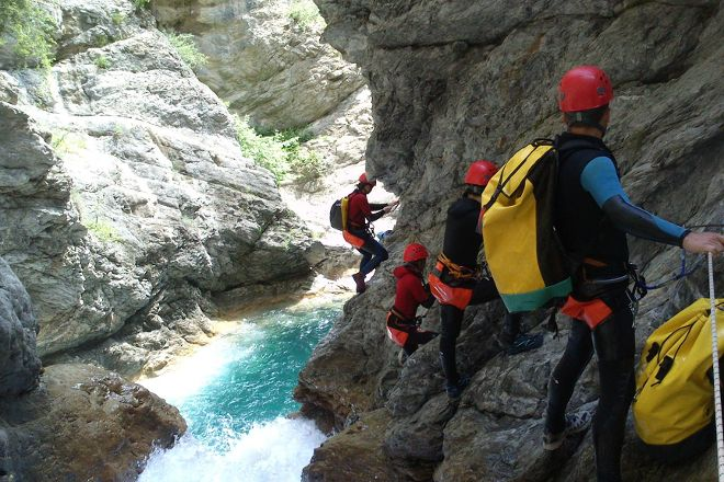 Terreo Canyoning, Annecy, France